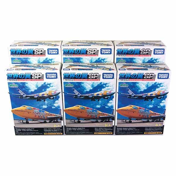 【6SET】 タカラ TMW 1/700 世界の翼 SP ポケモンジェット 全6種セット JAL ANA 旅客機 飛行機 半完成品 単品
