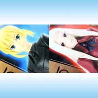Fate/Zero DXフィギュア フェイト/ゼロ 10TH ANNIVERSARY アニメ プライズ バンプレスト(全2種フルセット+ポスターおまけ付き)【即納】【05P03Dec16】