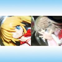 Rewrite -リライト- ヒロインフィギュア2 アニメ 恋愛 ゲーム プライズ フリュー(全2種フルセット+ポスターおまけ付き)【即納】【05P03Dec16】