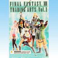 ファイナルファンタジーXIII トレーディングアーツ Vol.1 フィギュア 箱玩 スクウェア・エニックス(全5種フルコンプセット)【即納】