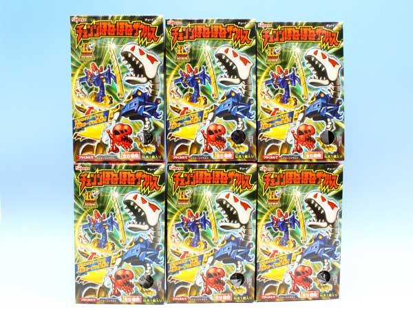 ほねほねザウルス10周年 チェンジほねほねザウルス 変形 おもちゃ 食玩 カバヤ (全6種フルコンプセット)【即納】