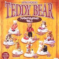 アンティーク テディベアー フィギュアコレクション1 ANTIQUE TEDDY BEAR ガチャ 海洋堂(全8種セット)【即納】