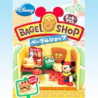 ミッキーマウスベーグルショップ BAGEL SHOP ディズニー DISNEY お店 フィギュア 食玩 RE-MENT リーメント【即納】