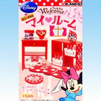 ミニーマウス Welcomeマイルーム ウェルカム ディズニー DISNEY 食玩 リーメント(全5種フルコンプセット)【即納】