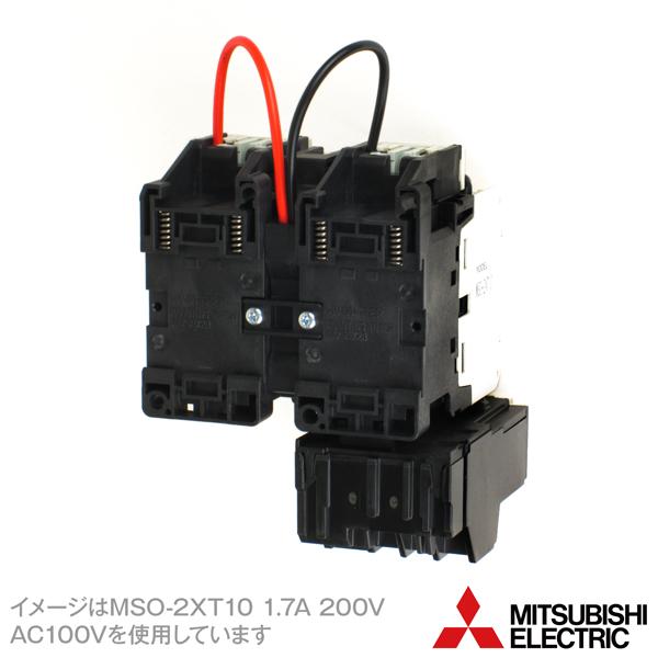 MITSUBISHI ELECTRIC MSO-2xT10 []kW 200V AC200V Motor Starter (Reversing)(Rated capacity 2.5kW) NN