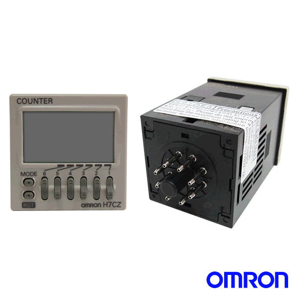 OMRON H7CZ-L8[] Digital Counter (1-stage preset counter)(6 digits)(SPDT) NN