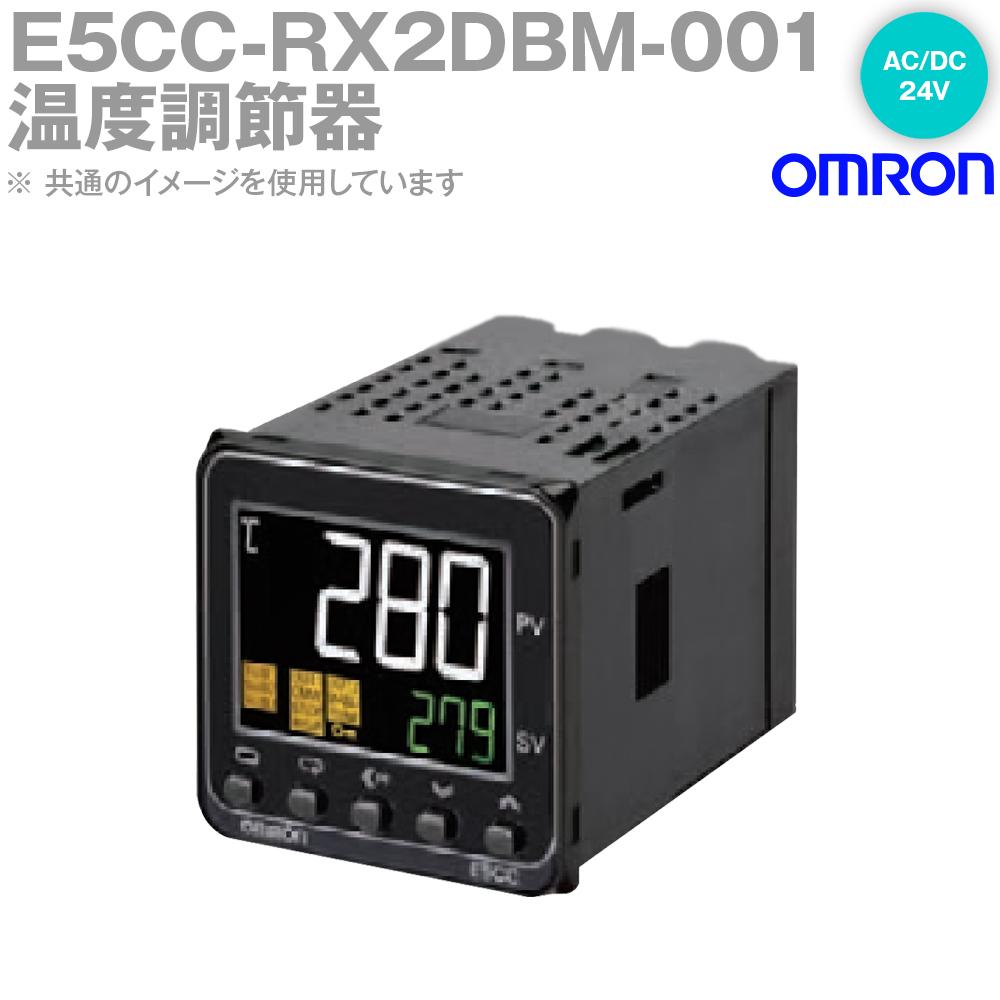 オムロン (OMRON) E5CC-RX2DBM-001 温度調節器 AC/DC24V プッシュインPlus端子台 プッシュインPlus端子台タイプ E5CC-Bシリーズ NN