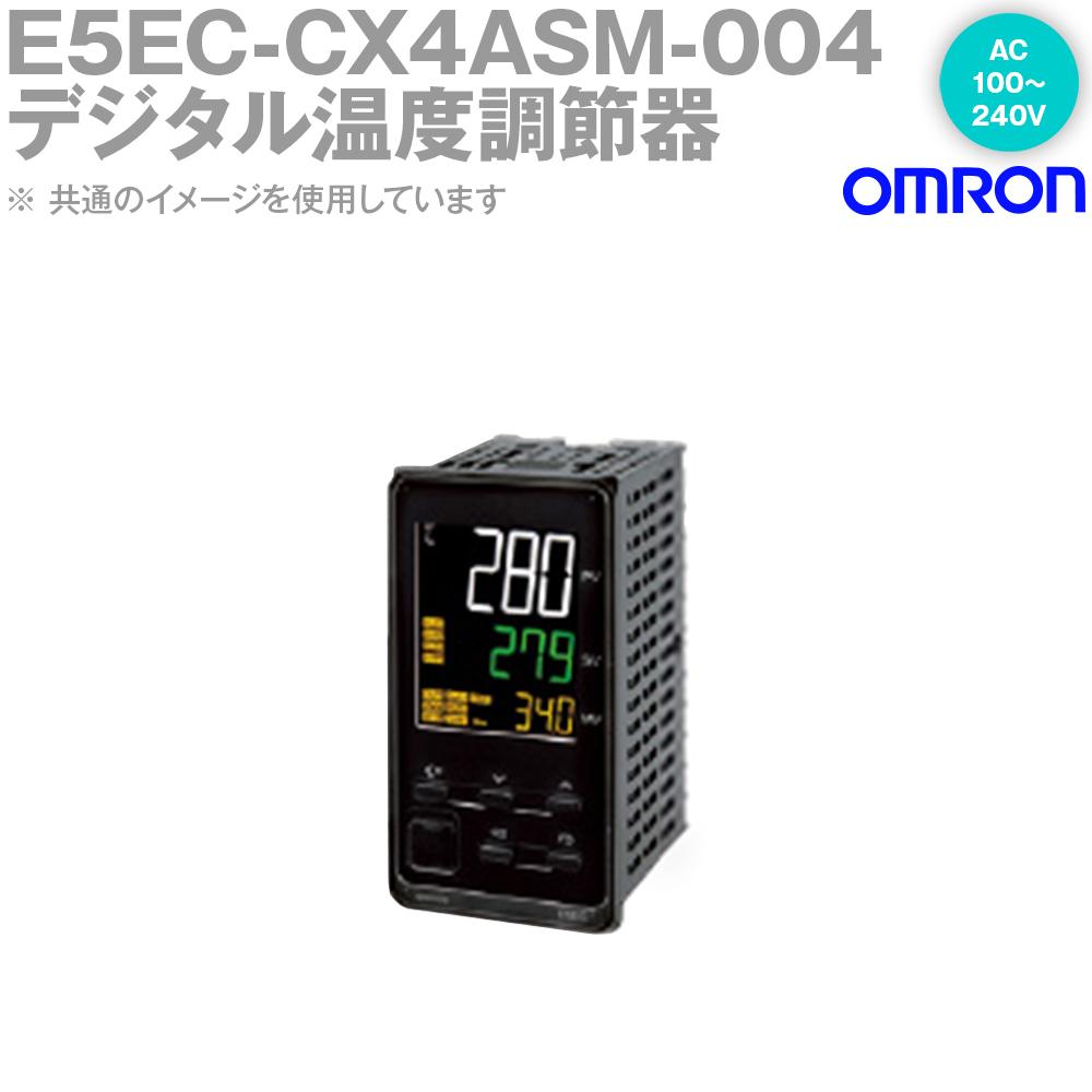 オムロン (OMRON) E5EC-CX4ASM-004 温度調節器 AC100-240V ねじ端子台タイプ E5ECシリーズ NN