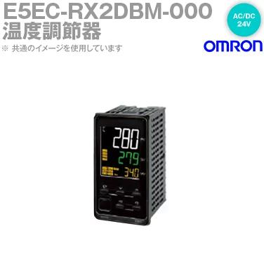 オムロン (OMRON) E5EC-RX2DBM-000 温度調節器 AC/DC24V プッシュインPlus端子台タイプ E5EC-Bシリーズ NN