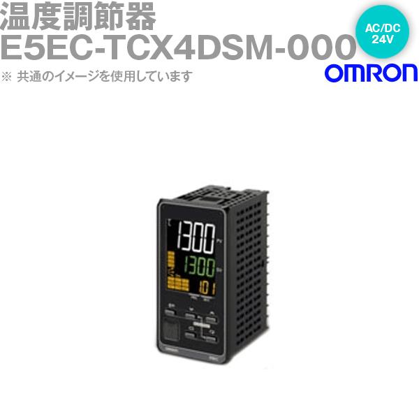 オムロン (OMRON) E5EC-TCX4DSM-000 温度調節器 DIN48×96 端子台タイプ リニア電流出力 AC/DC24V NN