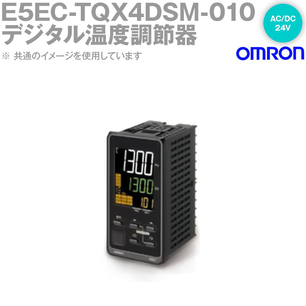オムロン (OMRON) E5EC-TQX4DSM-010 温度調節器 DIN48×96 端子台タイプ 電圧出力SSR駆動用 AC/DC24V NN