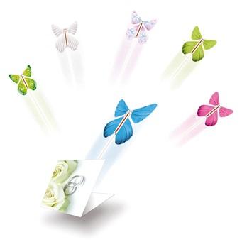 蝶が舞い上がる新演出 今だけ限定15%OFFクーポン発行中 日本正規代理店品 フライングバタフライ ゴム駆動で蝶が舞い上がる新演出 披露宴サプライズ 披露宴演出 披露宴の新しいセレモニーに