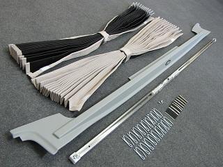 カズクリエイション ハイエース200系(2~4型後期(5型))間仕切りカーテンフルキット(車中泊)