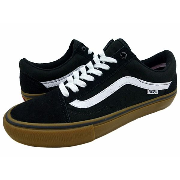 416d4b9c77 Brand new overseas model VANS OLD SKOOL PRO   gum sole   black   vans   old  school Pro