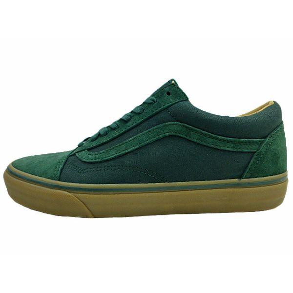vans green suede old skool