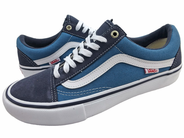 598a24f7e7f5 New overseas model VANS OLD SKOOL PRO  dark blue   vans   old school   pro
