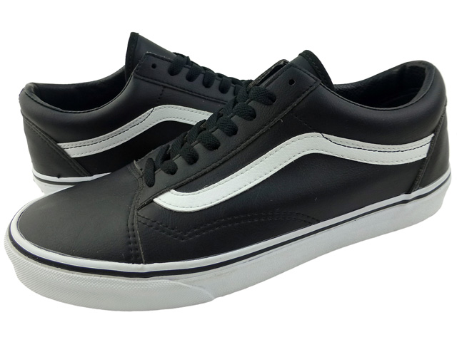 myymälä bestsellereitä Tarkista tunnetut tuotemerkit New overseas model VANS OLD SKOOL leather black / vans old school