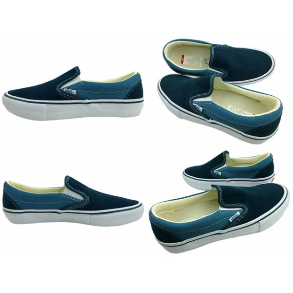 Glisser-ons Slip-on Classique Fourgons Noir / Blanc