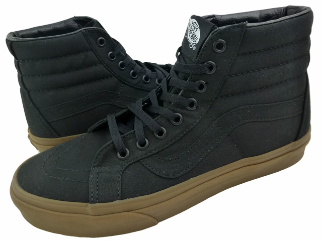 Canvas Sk8 Hi | Shop Shoes | All black vans, Black high top