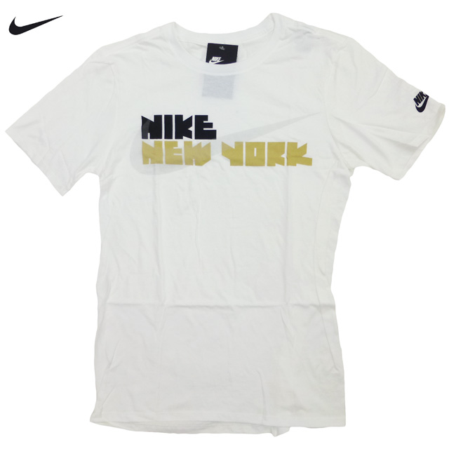 3caaa08b7 auc-trickortreat: New /US-limited /NIKE/Block Letter N.Y. City Tee ...