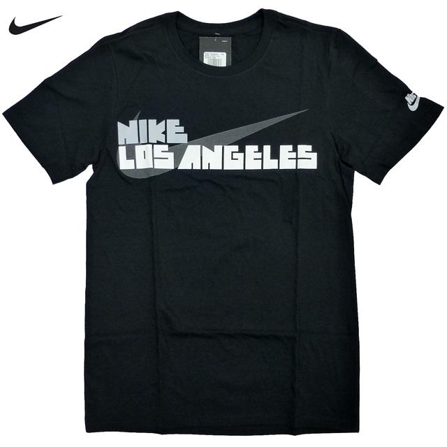 新品 US限定 NIKE Block Letter L.A. City Tシャツ ロサンゼルス ゴツNIKE 黒 白 グレー/ナイキ【あす楽対応_関東_甲信越_北陸_東海_近畿_中国_四国】【ゆうパケット対応】