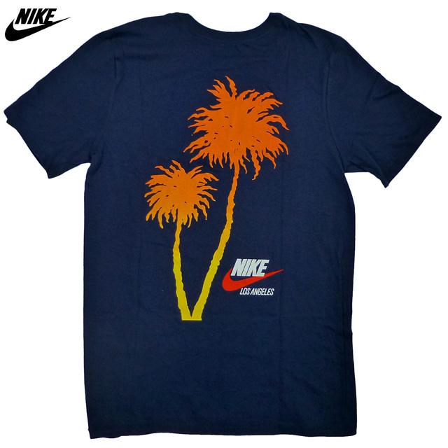 新品 ロサンゼルス限定 NIKE L.A. Local Palm Tree Tシャツ 紺/ナイキ パームツリー【あす楽対応_関東_甲信越_北陸_東海_近畿_中国_四国】【ゆうパケット対応】