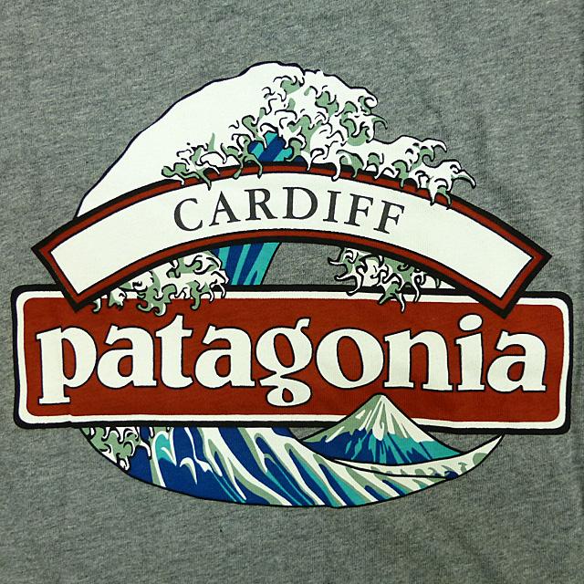 Brand new /Patagonia North Osaka/t shirt / grey / Cardiff limit / Patagonia