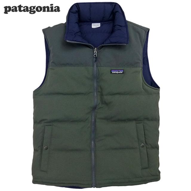 Patagonia Reversible Bivy Down Vest Forge Grey/パタゴニア リバーシブル・ビビー・ダウンベスト(27587)【あす楽対応_関東_甲信越_北陸_東海_近畿_中国_四国】