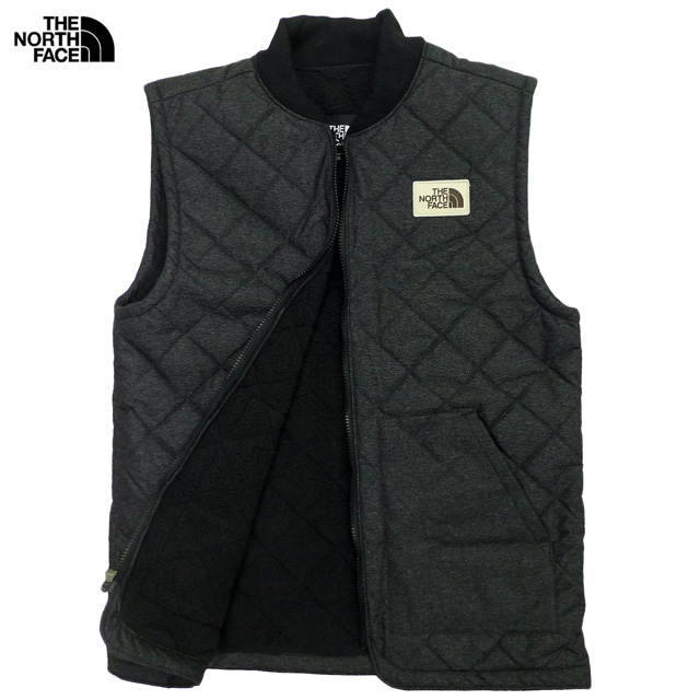 1ebc3389506f New THE NORTH FACE Cuchillo Insulated Vest  reproduction tea tag   quilting  best  Tnf Black Dobby  ザノースフェイス