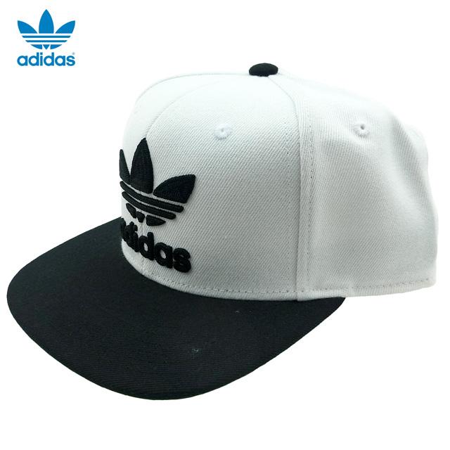 c1ec4f9e84b New  adidas ORIGINALS Trefoil Chain Snapback  white   black   Adidas   cap