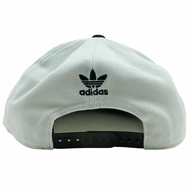 b80e1a8f9cfd9 adidas ORIGINALS Trefoil Chain Snapback Size Free Color White Black