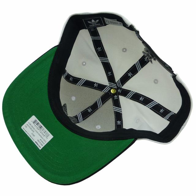 b130c52360170 New  adidas ORIGINALS Trefoil Chain Snapback  white   black   Adidas   cap