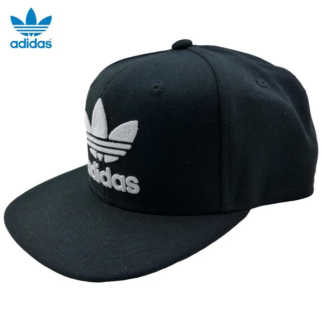 306512233d70f auc-trickortreat  New  adidas ORIGINALS Trefoil Chain Snapback  black    white   Adidas   cap