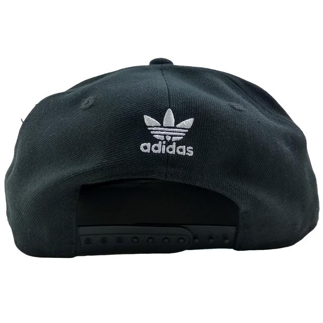 16330b23f48 New  adidas ORIGINALS Trefoil Chain Snapback  black   white   Adidas   cap