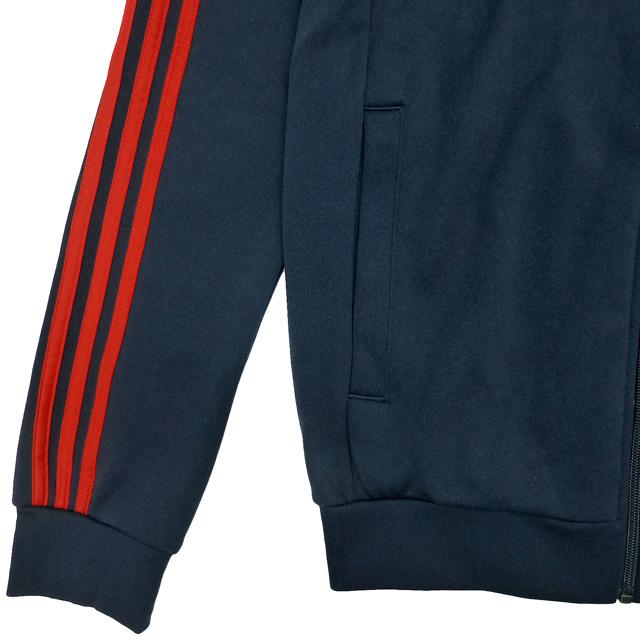New adidas ORIGINALS Super Star Track Top Adidas original strike rack top jersey dark blue red (BR4320)