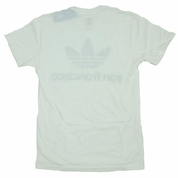 신품/adidas ORIGINALS/클로버/San Francisco/SF 제한/T 셔츠/아디다스/オリジナルス/