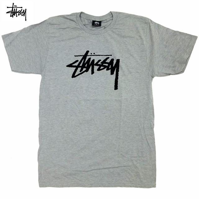 6fab5c3d9 auc-trickortreat: New STUSSY Stock Tee/ gray / constant seller ...