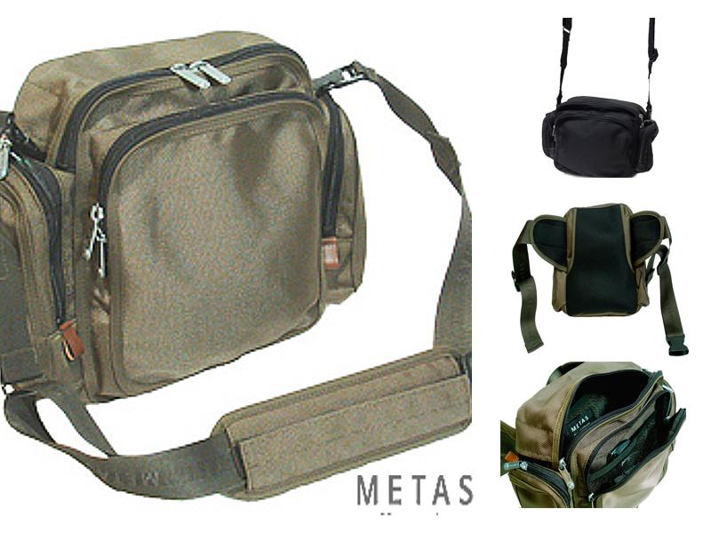 METAS メタス 国産 ナイロン 2WAY ウエストバッグ 兼用 ショルダーバッグ UDP-18