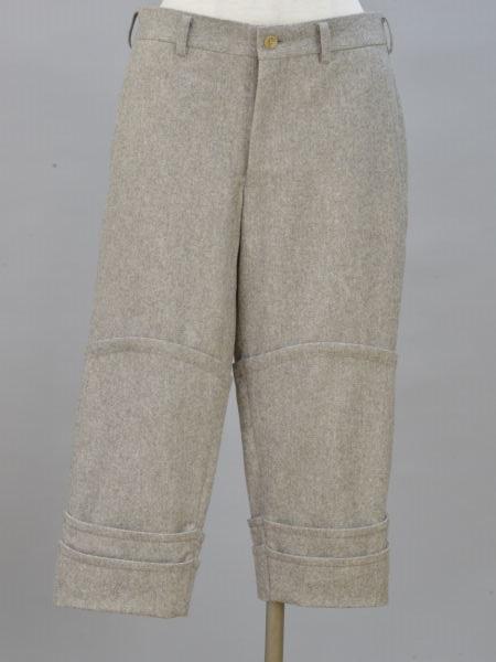 コムデギャルソンオムプリュス COMME des GARCONS HOMME PLUS ウール パンツ XSサイズ ベージュ メンズ F-L5681【中古:美品】【ブランド買取販売トリヴァンドラム】180906