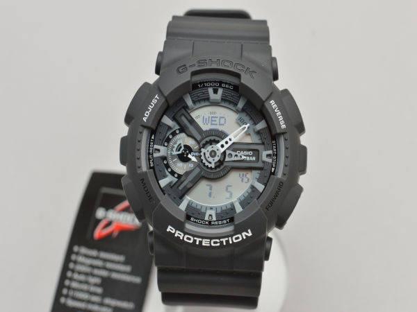 カシオ ジーショック CASIO G-SHOCK 腕時計/ウォッチ 逆輸入・海外モデル GA-110C-1AR ブラック メンズ F-YA165【新品】【ブランド買取販売トリヴァンドラム】180906