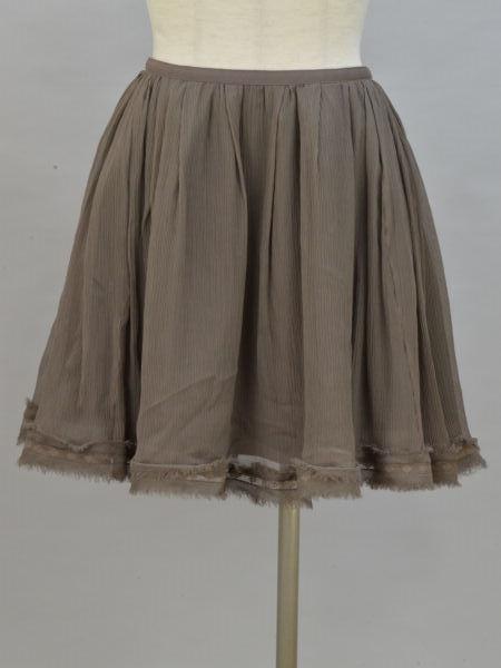 デイジーリンフォーフォクシー DAISY LIN for FOXEY クレマチス スカート 38サイズ モカブラウン レディース F-L5446【中古:良品】【ブランド買取販売トリヴァンドラム】180912