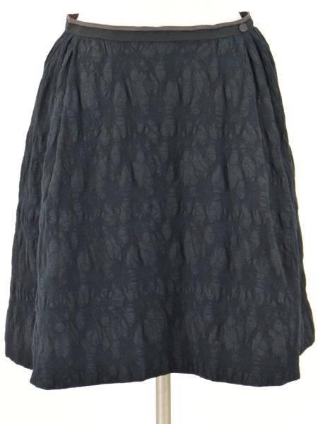 フォクシーブティック FOXEY BOUTIQUE スカート(Black Truffe) 38サイズ ブラックブラック レディース F-M9751【中古:美品】【ブランド買取販売トリヴァンドラム】180913