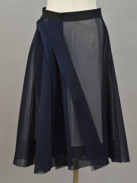 サポートサーフェス support surface メッシュ スカート 1サイズ ネイビー レディース F-L5821【中古:新古品・未使用品】【ブランド買取販売トリヴァンドラム】190306