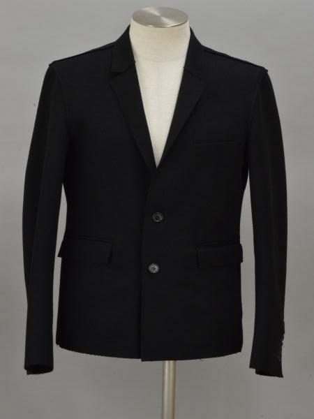 クリスヴァンアッシュ KRIS VAN ASSCHE テーラードジャケット 46サイズ ブラック イタリア製 メンズ F-L5968【中古】【ブランド買取販売トリヴァンドラム】190814