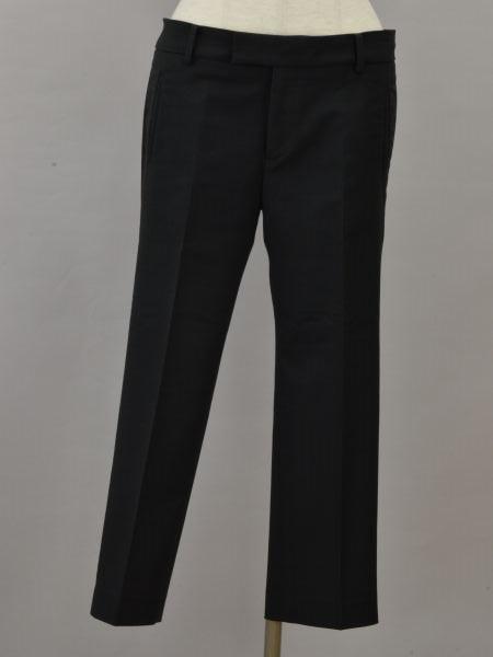 公式ショップ ユナイテッドアローズ UNITED ARROWS センタープレスパンツ 38サイズ ブラック 201103 中古 F-M11948 レディース ブランド買取販売トリヴァンドラム 送料無料新品