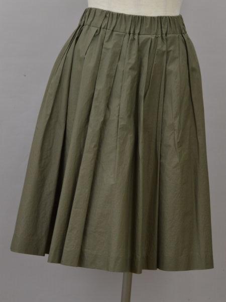 サクラ SACRA Jewel Changes スカート ウエストゴム ギャザー 38サイズ ブランド買取販売トリヴァンドラム カーキ おすすめ 中古:良品 レディース j_p 5☆好評 210601 F-M12192