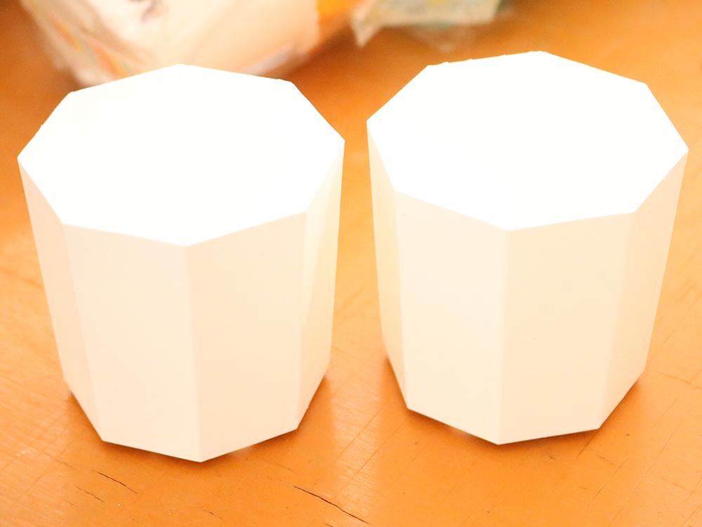 20個セット 2Y プラ2号用鉢 八角形鉢 お洒落 プラ鉢 底穴あり