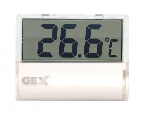 GEX クリア液晶デジタル水温計 【熱帯魚・アクアリウム/水温計】