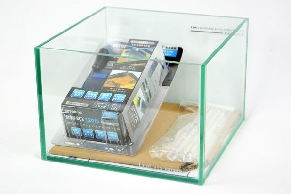 コトブキ クリスタルキューブ 200LOW フィルターセット 【熱帯魚・アクアリウム/水槽・アクアリウム/水槽 】