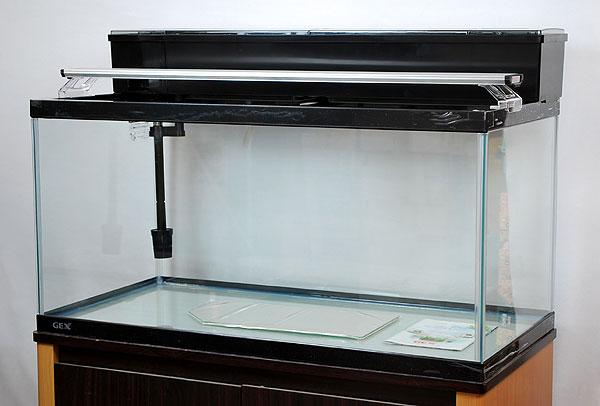 【送料無料】 GEX マリーナ90cm水槽 熱帯魚飼育11点セット 【到着日時指定不可】【北海道・沖縄・離島、別途送料】